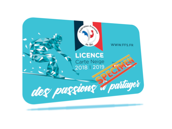 >>> image : licence FFS 2018 / 2019, manquante <<<